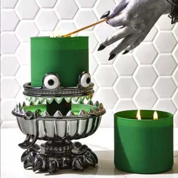 Bath & Body Works Monster Candle holder Halloween